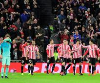 Barcelona start 2017 with defeat at nine-man Bilbao