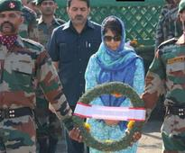 Mehbooba pays tribute to 18 soldiers killed in Uri attack