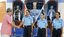 Air Force inducts its first batch of women fighter pilots