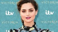 Jenna Coleman laughs off Prince Harry speculation, saying 'he's a friend'