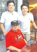 Roquito Ablan Jr., Upsilonian brother to Aquino and Marcos