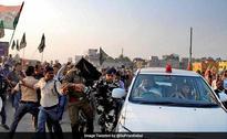 Trinamool Allegedly Hurls Stones At Babul Supriyo's Car In Durgapur