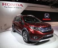 Honda BR-V receives 567 bookings in April 2016