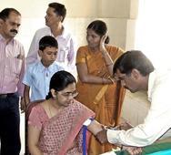 Health camp held for Revenue Dept. officials
