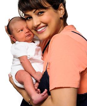 Meet Karan Mehra-Nisha Rawal's baby boy