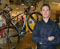 opening his new specialised shop, Andy Schleck Cycles,