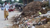 Wastes still stink in Dinajpur town
