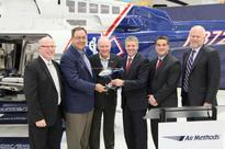 Bell Helicopter and Air Methods celebrate historic Bell 407GXP delivery