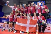 Denmark down Indonesia to seal Thomas Cup win