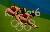 China wins gold in women's 10 meter synchronized diving