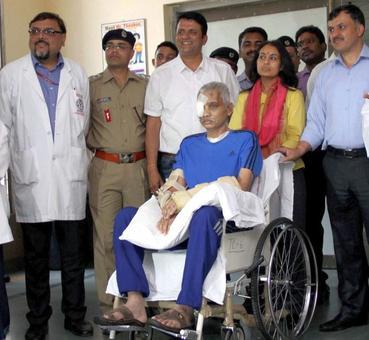 CRPF braveheart Chetan Cheetah awarded Kirti Chakra