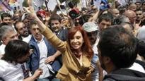 Argentina ex-leader Cristina Fernandez appears in court