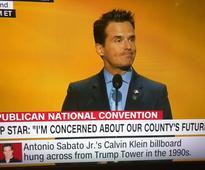 No Really, Antonio Sabato Jr. Of General Hospital Fame Spoke At The Republican Convention