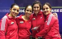 4 Egyptian women qualify for squash J.P. Morgan Tournament of Champions quarterfinals