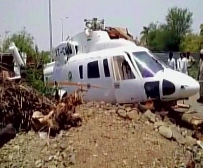 Did Latur water crisis bring down Fadnavis' chopper?