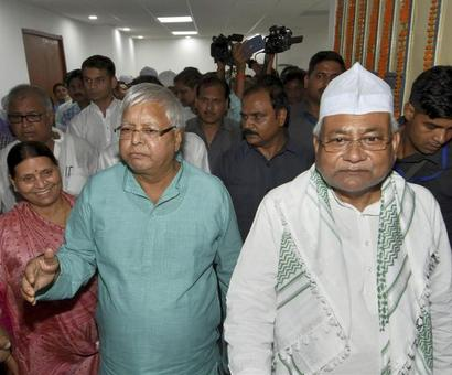 Nitish Kumar and the art of balancing the tightrope