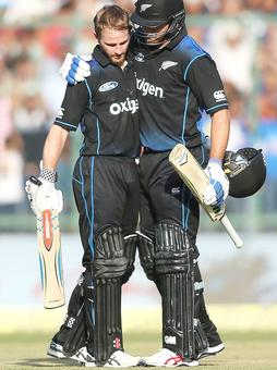 2nd ODI PHOTOS: Williamson ends New Zealand's winless run