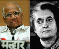 Indira Gandhi vs Sharad Pawar debate rages in Maharashtra, as parties display their insecurity