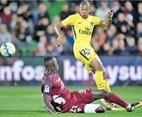 Mbappe grabs debut goal as PSG run riot