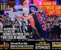 COLORS gives you a chance to be part of The Shiamak Davar Dance Company at IIFA 2016 in Madrid