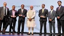 Make in India Week: PM Modi presents Time India Awards to Tata Steel, Hero MotoCorp, others