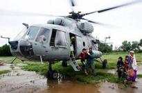 Army chopper pressed into rescue ops in Rewa