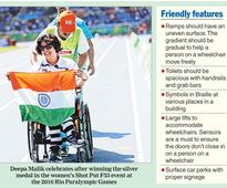 Calcutta, no city for the disabled