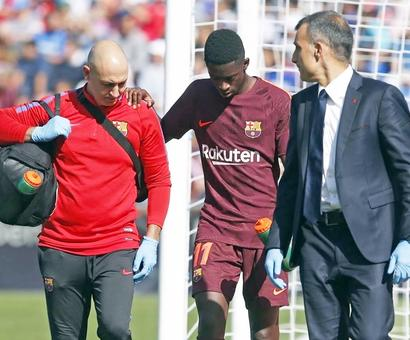 Dembele INJURED; Barca target Coutinho committed to Liverpool