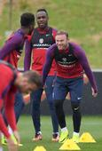 Arsenal youngster Tafari Moore trains with England senior squad as Luke Shaw sits out session
