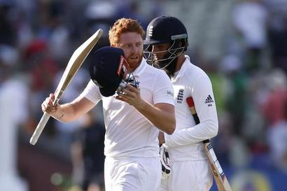 3rd Test: Bairstow, Moeen put England in control vs Pak