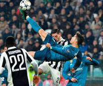 Cristiano Ronaldo hits the goal of the century; see pictures