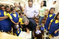 Governor Tours Two Schools Amid Beginning of New Academic Year