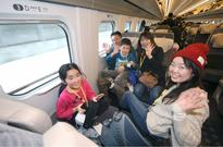 The Hokkaido Shinkansen Line gives test rides to thousands ahead of official opening