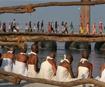 Lakhs throng Kumbh for holy bath on Maghi Poornima