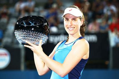 Tennis round-up: Konta wins Sydney title; Goffin retains Kooyong crown