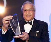 Sun Mark wins the prize at the Institute of Directors' (IOD) awards