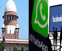 SC notice on plea for privacy regulations on WhatsApp, Facebook