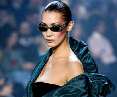PIX: Alexandre Vauthie's 80s inspired fashion show