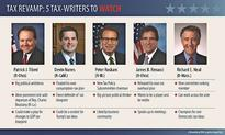 Tax Rewrite Players? Five House Tax-Writers to Watch in 2017