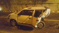 Alleged drunk driver rams BMW into Maruti WagonR  Driver killed