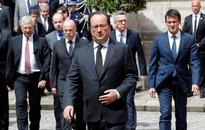 French president threatens ban on demonstrations after Paris violence