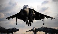 US Marine Corps Harrier Jet Crashes Into Okinawa Coast