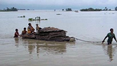 Floods wreck havoc in Arunachal Pradesh