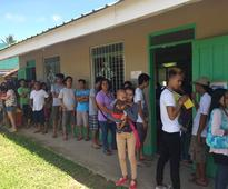 Smudges on ballots delay voting in Sorsogon