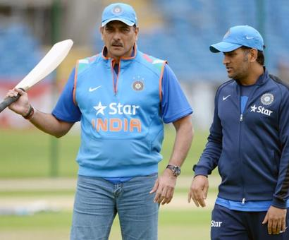 Shastri has just ONE word for Dhoni's critics...