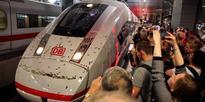 ICE 4 high speed train of German railway