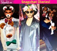 10 pics that sum up to what Ranveer Singh's Snapchat will be like!
