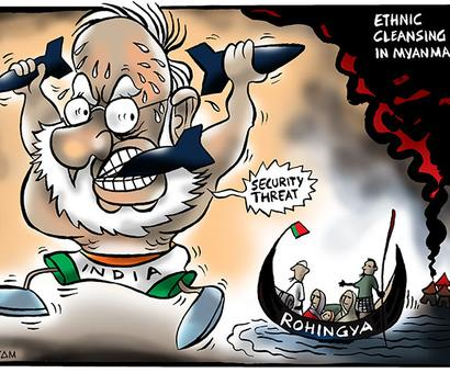 How dangerous are the Rohingya?