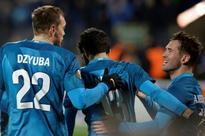Zenit face Krasnodar boosted by Europe run