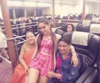 Mahhi Vij enjoys with mom & mom-in-law in Hong Kong